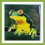 photo & tile frogs